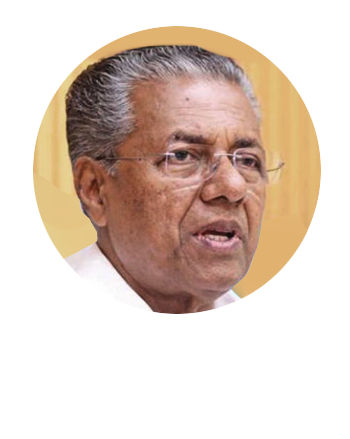 Photo of Pinarayi Vijayan, CM of Kerala
